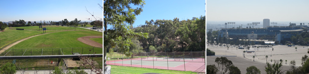 An ideal place to play baseball - Tennis without the hassles - Another ideal place for baseball