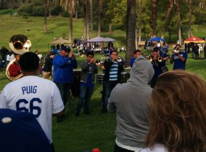 Dodger Faithful getting ready for opening day
