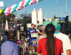 Mayor Garcetti kicking festivities off for Ciclavia
